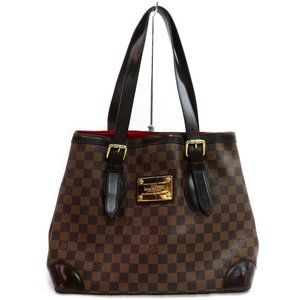 AUTH Louis Vuitton Tote Bag Damier Hampstead MM